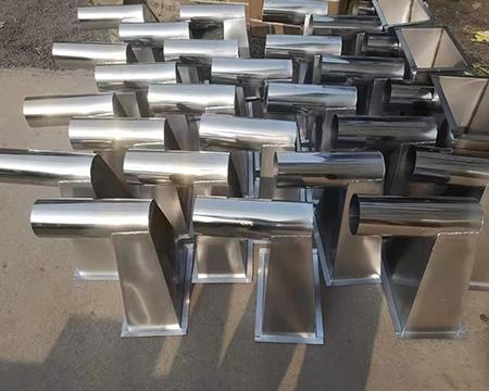 不锈钢制品需要打磨和出光。