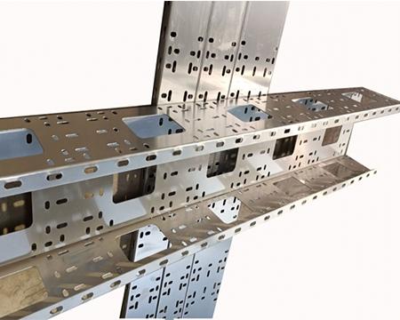 槽式铝合金电缆桥架